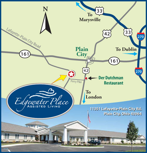 Edgewater Place Map